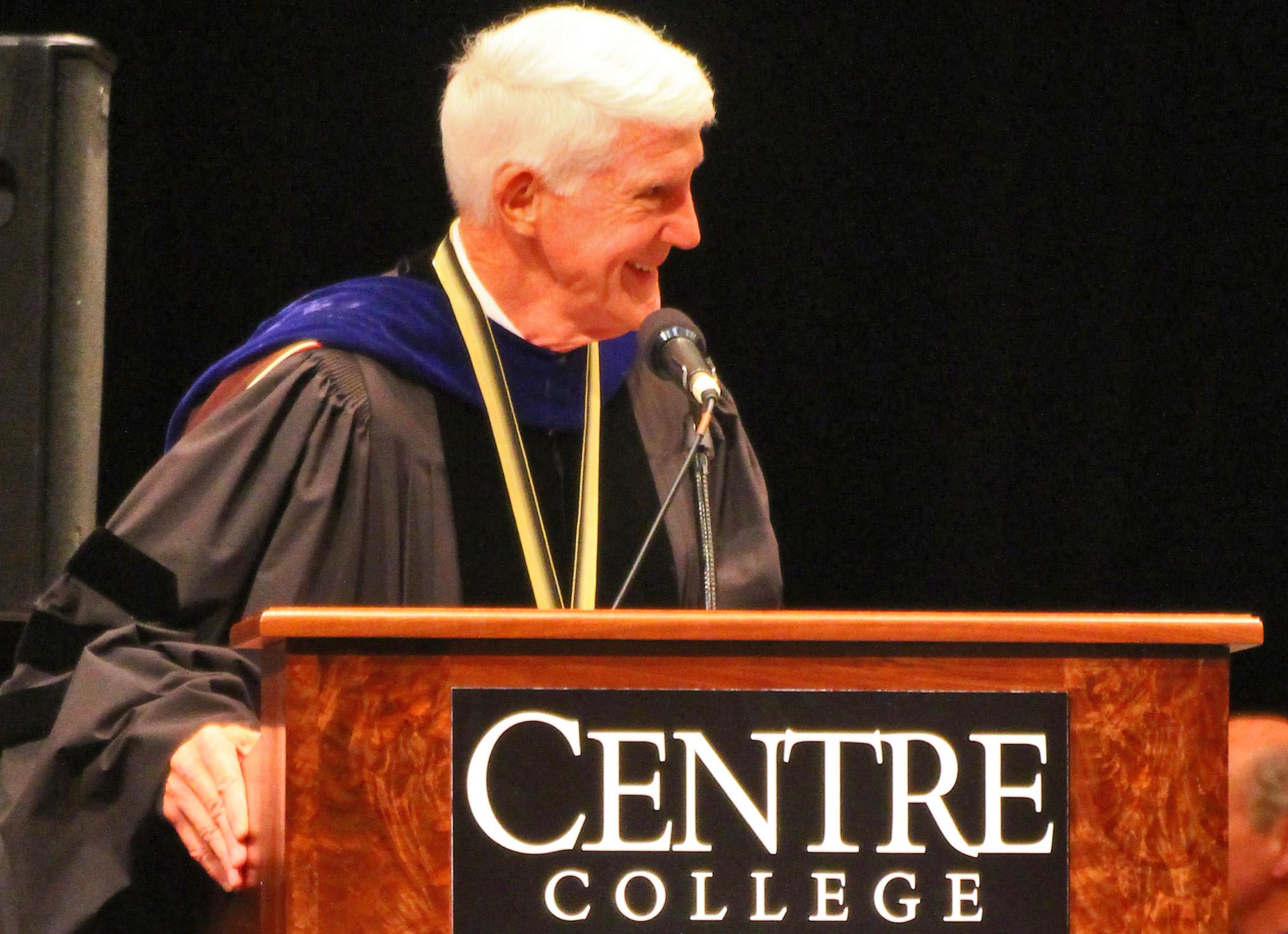 Centre President John Roush plans to retire next year - The  Advocate-Messenger | The Advocate-Messenger