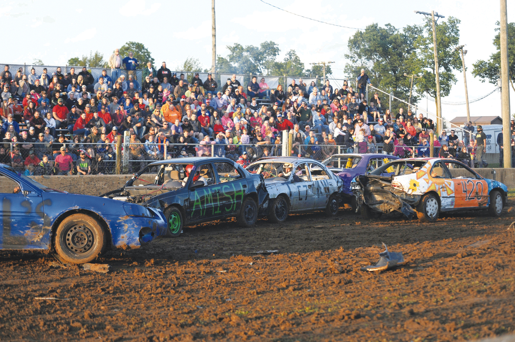 Beautiful Chaos Demolition Derby At The County Fair The Advocate Messenger The Advocate Messenger
