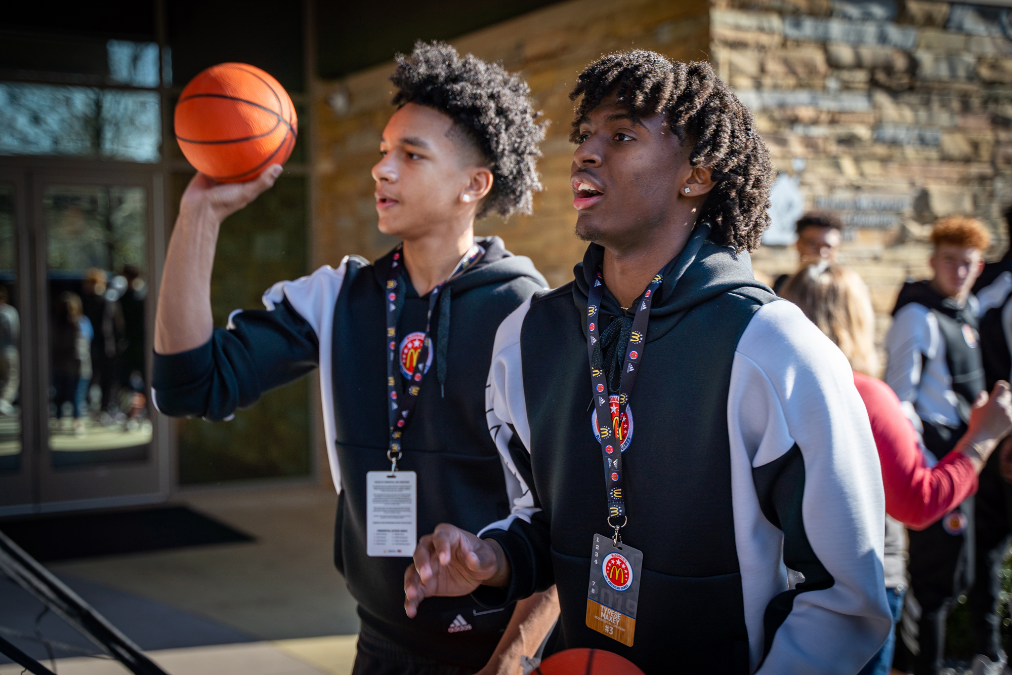 Tyrese Maxey Knows The Importance Of Giving Back At Uk The Advocate Messenger The Advocate Messenger
